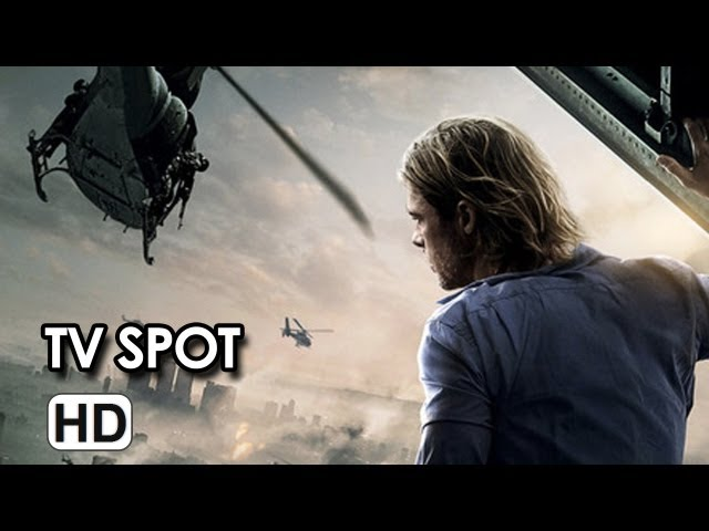 "World War Z TV Spot ""Dark"" (2013) - Brad Pitt Movie HD"