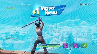 "FORTNITE First Win with WHITE ""LUXE"" SKIN (TIER 100 ""24K"" OUTFIT) SEASON 8 BATTLE PASS Showcase"