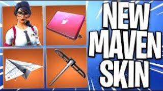 *NEW* Maven Skin !!! Fortnite console player (Fortnite Battle Royale)