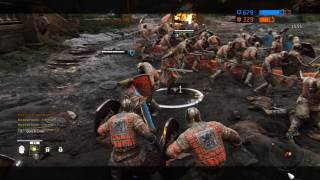 9 minutes of for honor dominion multiplayer gameplay