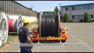 Przyczepa kablowa KVH