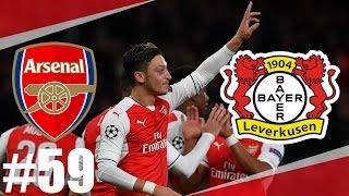 FIFA 17 | Arsenal-Leverkusen l Liga Mistrů-Historický Okamžik | PART 59 | XBOX ONE | CZ