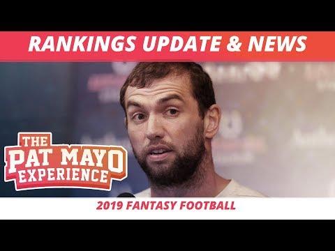 2019 Fantasy Football Rankings — NFL News, Injuries, Updated Rankings, DSTs + Draft Recaps