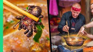 Hot Pot From Hell!! The Bizarre Diet of Vietnam's Black Thai People!! | TRIBAL VIETNAM EP4