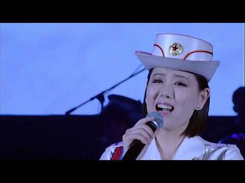 Moranbong Band - Long Live The Great Korean Worker's Party Medley (조선로동당 만세 노래련곡)