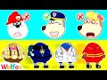 Wolfoo, What Do You Want to Be? Firefighter, Police, or Artist | Wolfoo Channel Kids Cartoon