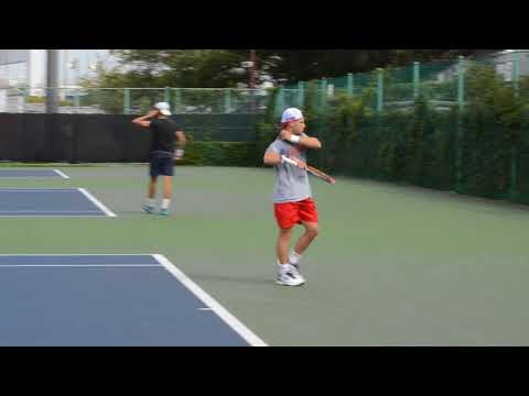 Diego Schwartzman (ARG)  - practice session @rakuten japan open 2017