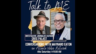 Talk to ME -- Greg Palast, Investigative Journalist