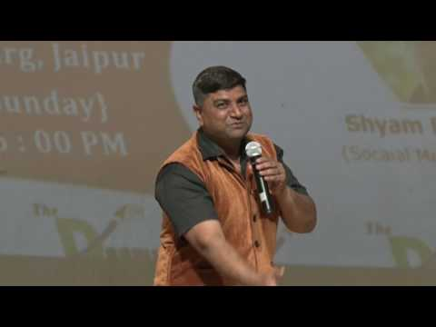 Comedian PK Mast at Maharana Pratap Auditorium Jaipur