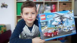 UNBOXING/ODPAKOWANIE LEGO CITY POLICJA HELIKOPTER 60138