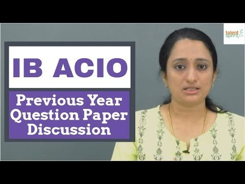 IB ACIO Previous Year Question Paper Discussion | Last Minute Exam  Preparation Tips