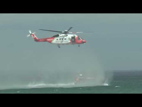 [HD1080p50] Irish Coast Guard Sikorsky S-92 @ Newcastle Festival of Flight 2016