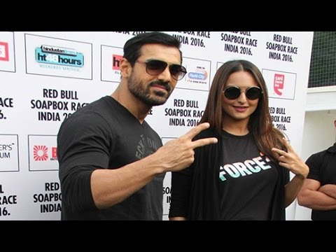 PROMOTION OF 'FORCE 2' AT SOAPBOX RACE INDIA 2016 | Bollywood News