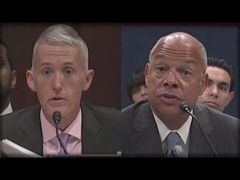 WITH ONE QUESTION TREY GOWDY GOT JEH JOHNSON TO FLIP ON OBAMA AND SPILL EVERYTHING