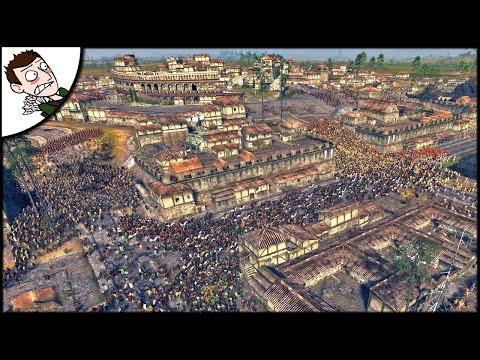 MASSIVE 19000 ROME v AVERNI SURVIVAL BATTLE! Ancient Empires Gameplay (Total War Attila Mod)