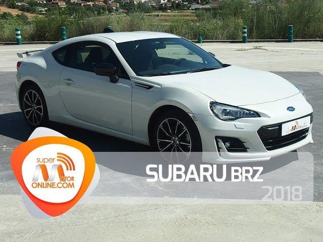 Subaru BRZ 2018 / Al volante / Prueba dinámica / Review / Supermotoronline.com