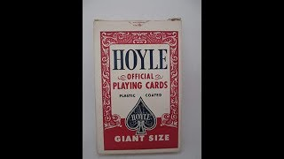 Vintage Hoyle Giant Deck Review