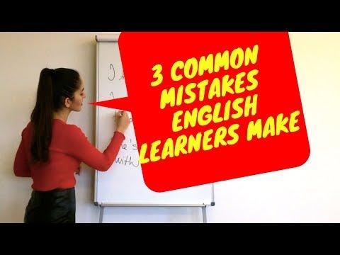 3 časté chyby ktoré robia študenti v angličtine  1