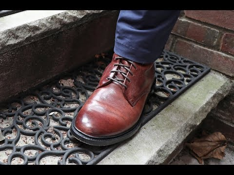 Frye Jones Lace-Up Review - Looks Great