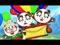 Balloon Air Trip Song | Panda Bo Nursery Rhymes for Kids