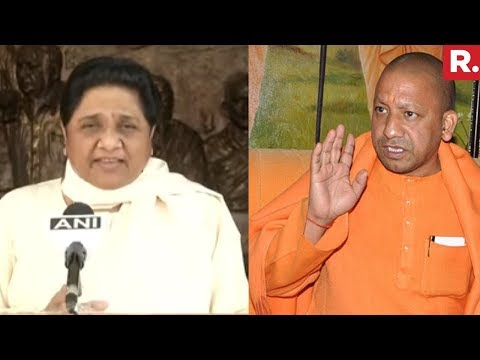BSP Chief Mayawati Attack On BJP CM Yogi Adityanath
