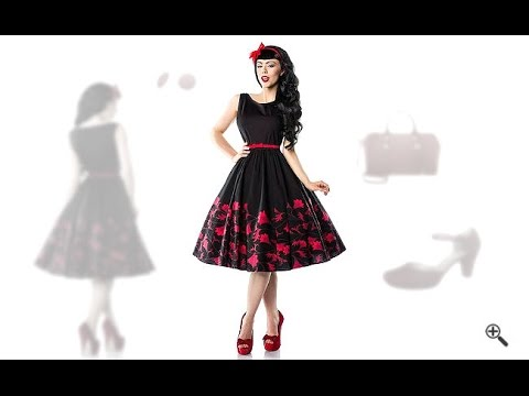 petticoat kleid 50er 3 rockabilly outfit tipps f r amanda youtube. Black Bedroom Furniture Sets. Home Design Ideas