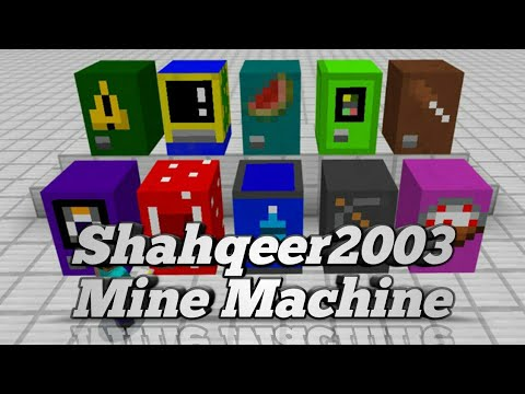 ✔Mine Machine Addons By Shahqeer2003 [Malay Version]
