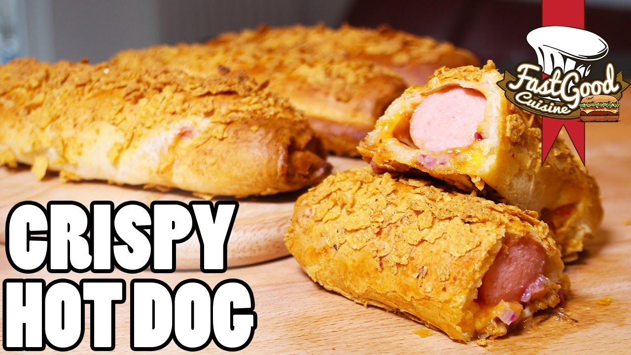 How To Make A Crispy Hot Dog