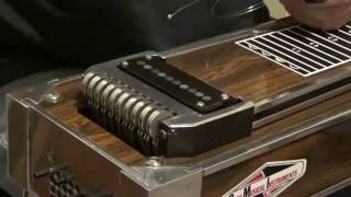 pedal steel guitar how to change strings and routine maintenance
