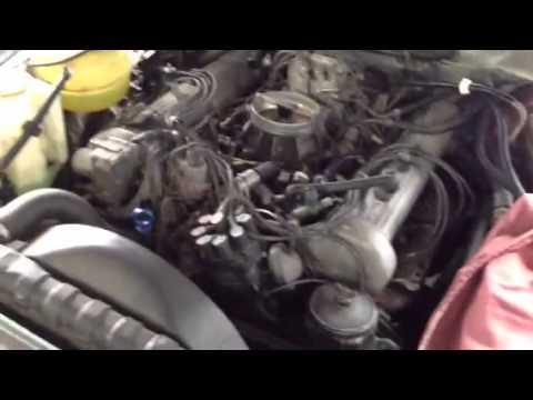 Ed Debien Mercedes Benz 380 SL, Service and Repair by