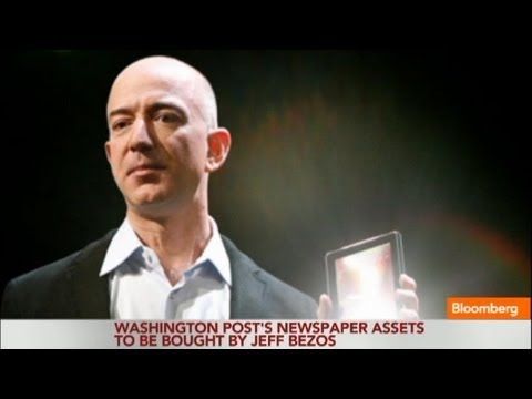 Amazon CEO Jeff Bezos to Buy Washington Post for $250M