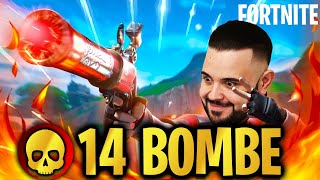 Fortnite : 14 Bombette ,End Game Bello Movimentato