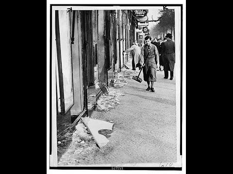 "Remembering ""Kristallnacht"": The Night of Broken Glass"