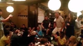 Crazy Samba at Quiet Izakaya in Tokyo