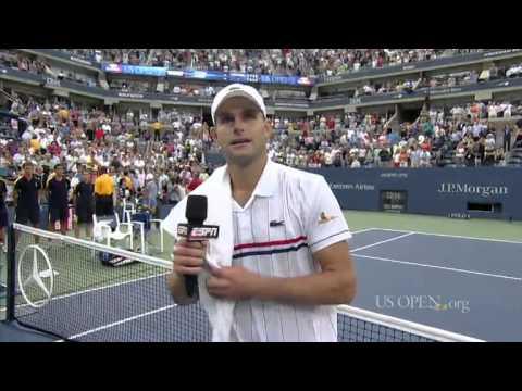 Andy Roddick's On-Court Speech Following Final Career Match