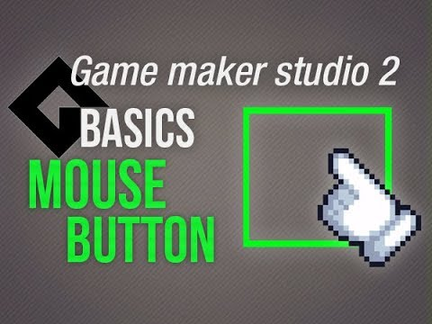 🔴Game Maker Studio 2 | Basics – Click button