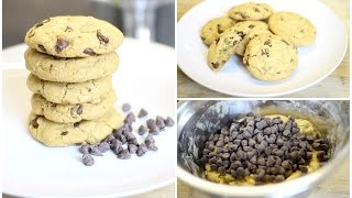 Homemade CHEWY Chocolate Chip Cookies  JENEEVALOVE