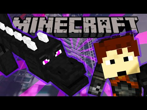 Minecraft   DRAGON ATTACKS CITY!   Greenfield City DESTROYED!