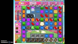 Candy Crush Level 1689 help w/audio tips, hints, tricks