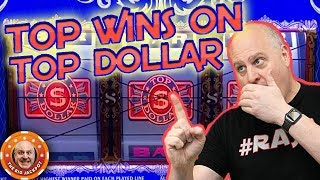 💸HIGH LIMIT TOP DOLLAR! 💸How Many JACKPOTS Can I Hit?! 🎰