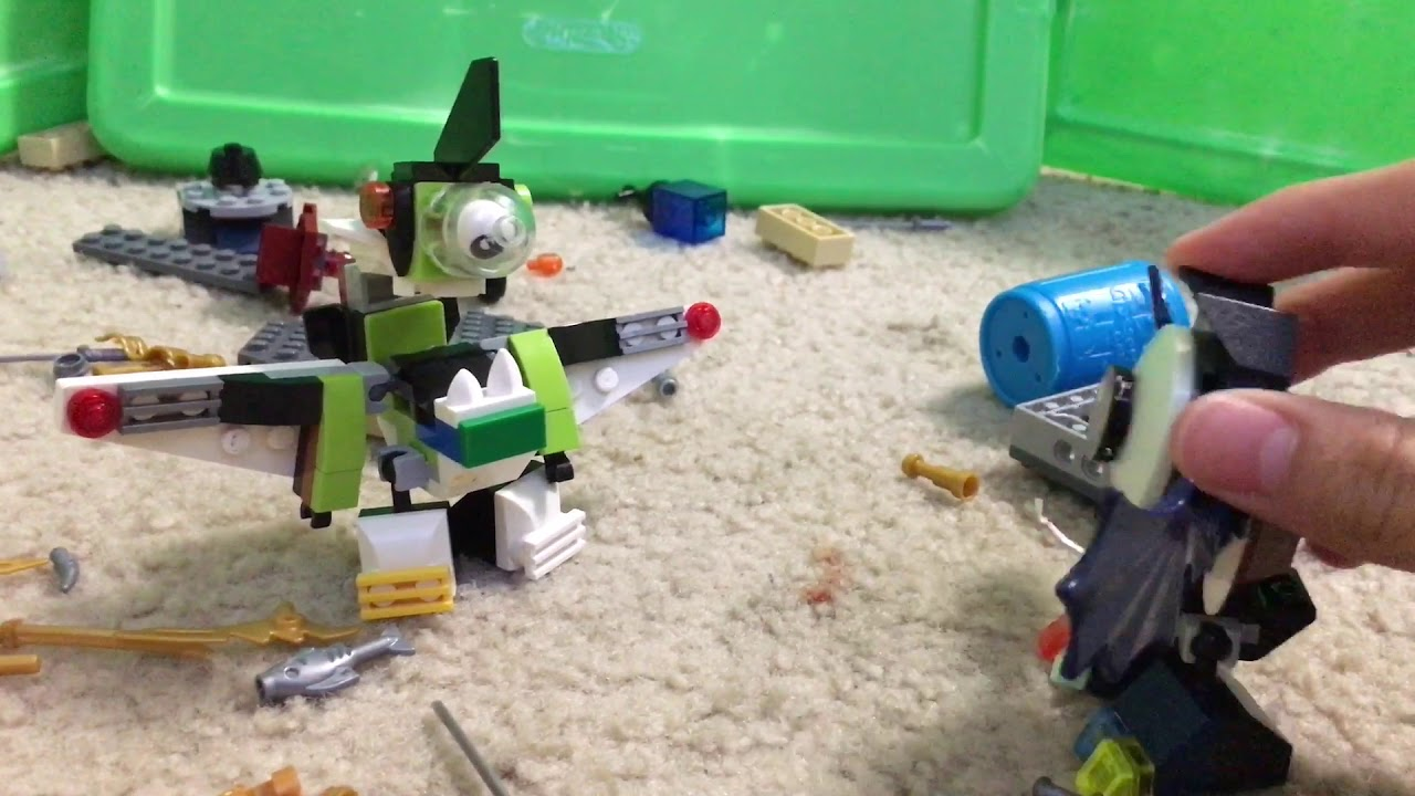 Lego mixels episode 16 nisput freakout it doesn't want to clean up