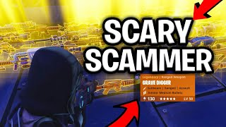 Scary Scammer Scams Himself For Loads of 130 Weapons! (Scammer Gets Scammed) Fortnite Save The World