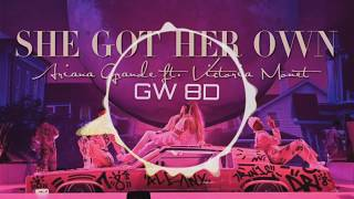 Ariana Grande 🎧 Victoria Monét - Got Her Own 🔊8D AUDIO🔊 Use Headphones 8D Music Song