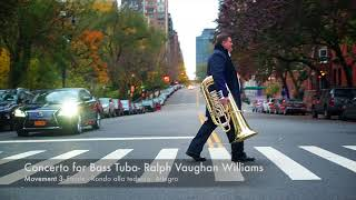 Concerto for Bass Tuba- Ralph Vaughan Williams (New Jersey Symphony Orchestra)