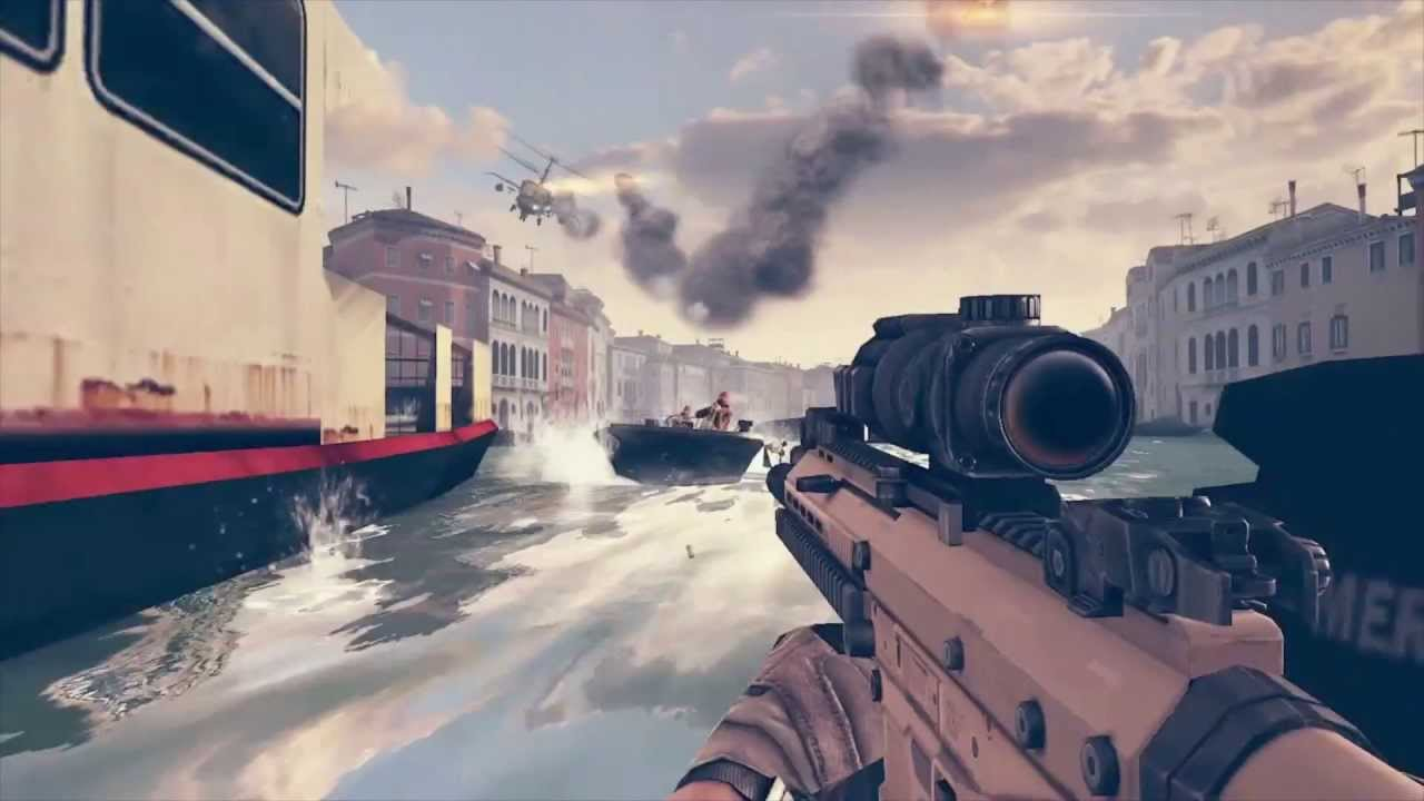 Modern Combat 5 E3 Trailer Iphone Ipad Android Youtube