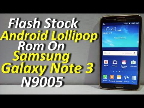 Flash Stock Android Lollipop On Galaxy Note 3 N9005 (Urdu+Hindi)