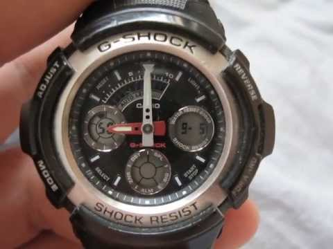 ba07f7bee906 G-Shock Casio AW-590 after 3 years of use REVIEW - YouTube