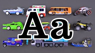 Best ABC Learning Videos for Kids Teaching Letter A Street Vehicles Cars & Trucks for Children(Best ABC Learning Videos for Kids Teaching Letter A Street Vehicles Cars & Trucks for Children with Hot Wheels, Matchbox & More - Organic Learning., 2016-11-07T05:10:12.000Z)