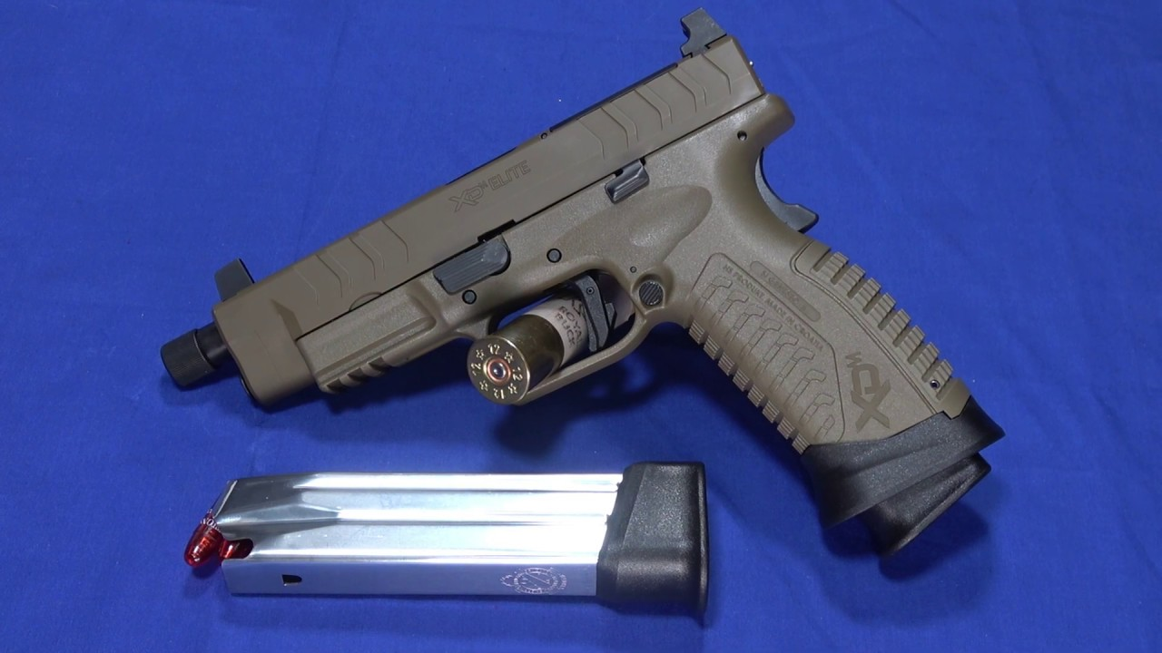The New Springfield Armory XDm Elite Tactical OSP 9mm