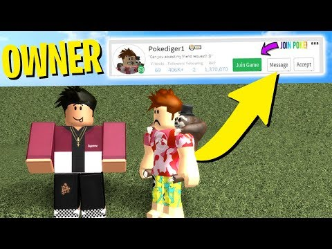 MEETING THE OWNER OF THE CLICKBAIT ROBLOX AD..